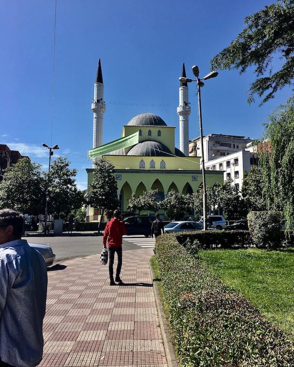 Parruca-Moschee in Shkodra Albanien