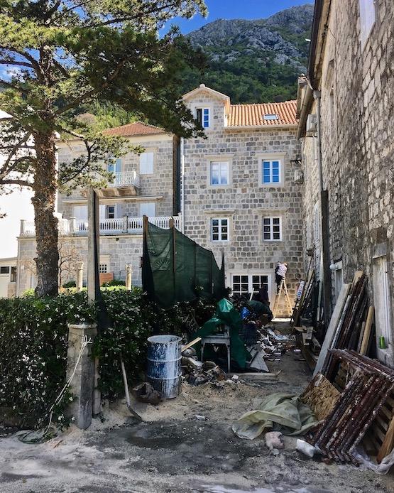 Perast Altstadt Kotor-Bucht Montenegro