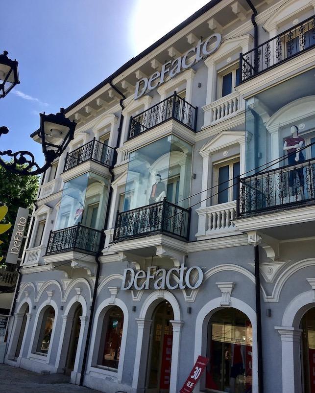 Restauriertes Bürgerhaus Shkodra Albanien