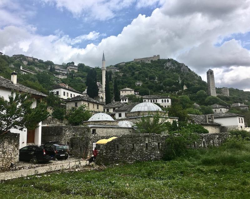 Restauriertes Pocitelj Bosnien-Herzegowina