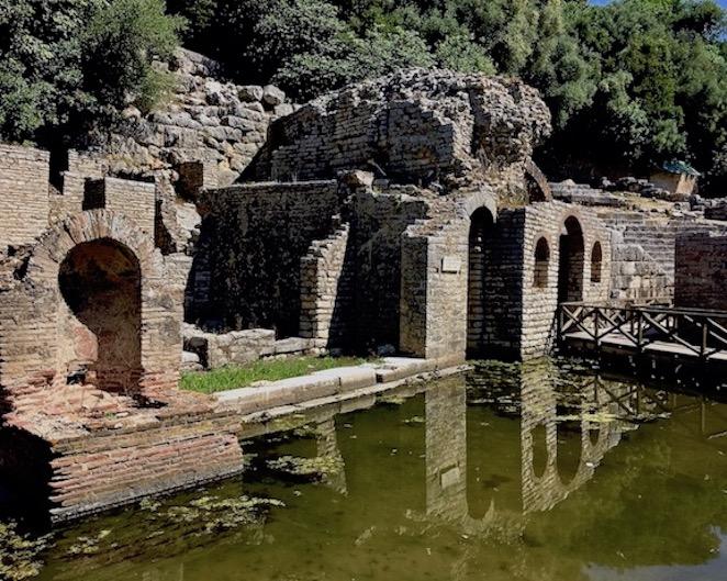 Schatzhaus des Asklepios-Tempel Butrint Albanien