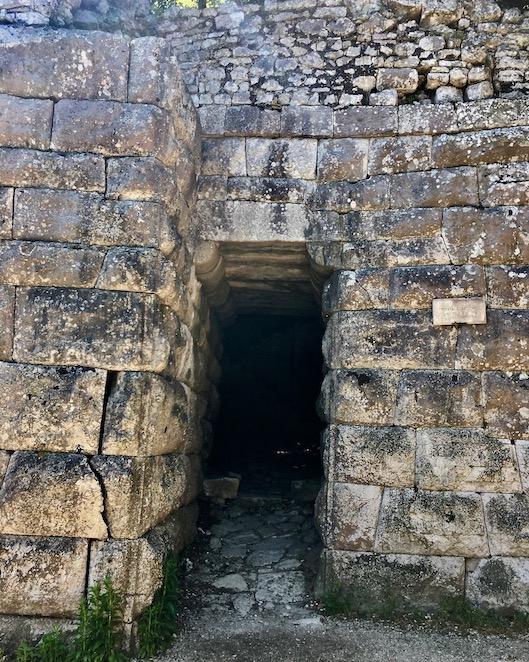 Seetor von außen Butrint Albanien