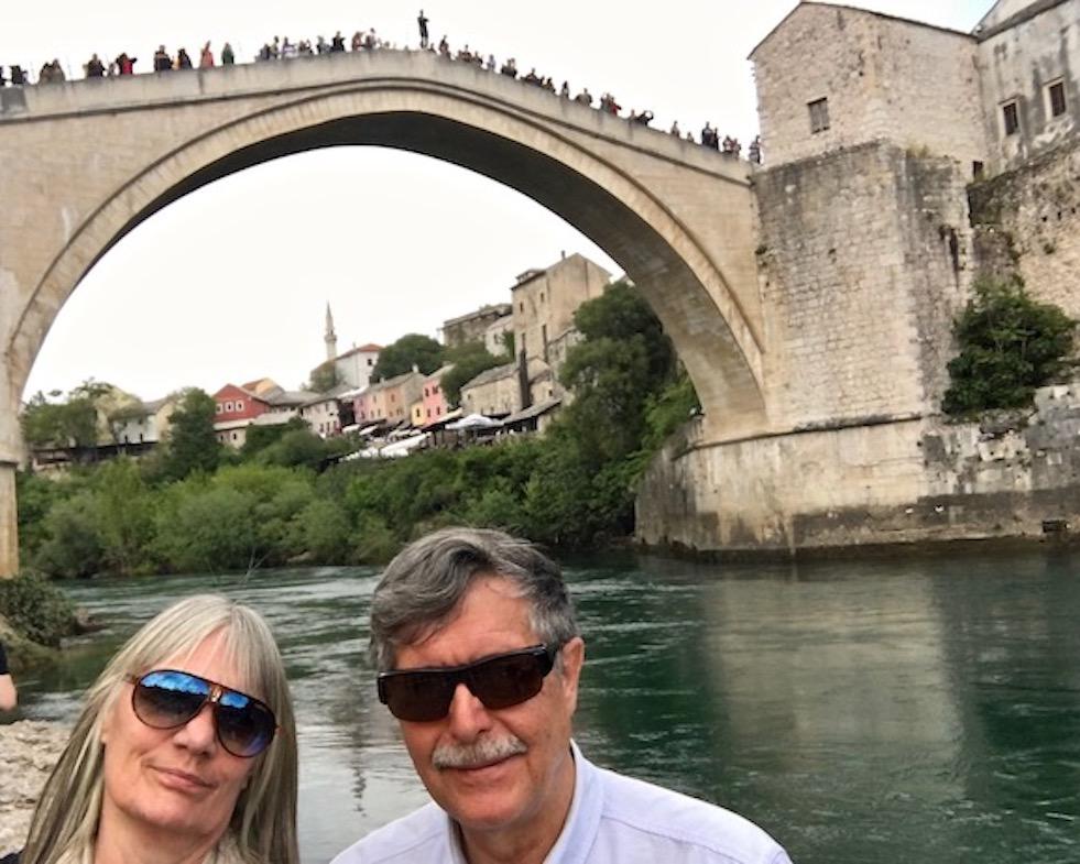 wir sind in Mostar