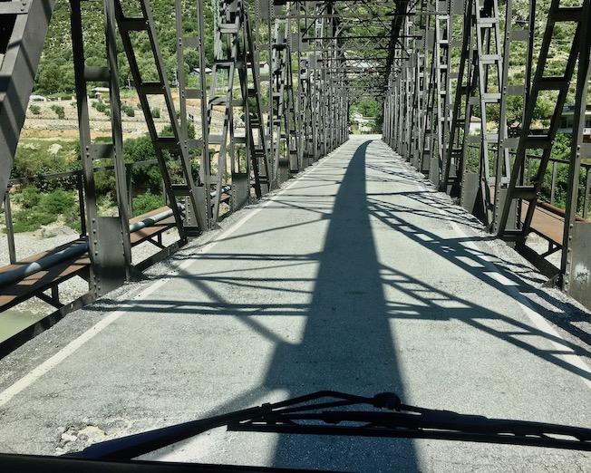 Brücke bei Dragot Albanien