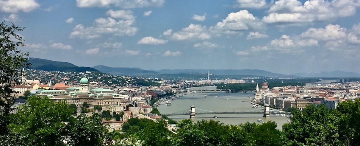 Budapest an der Donau Ungarn