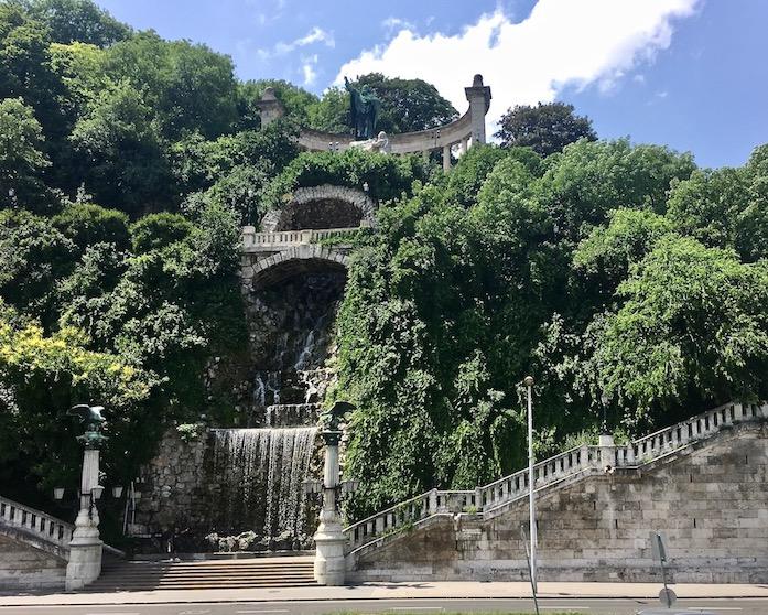 Denkmal des Hl.Gellert Budapest Ungarn