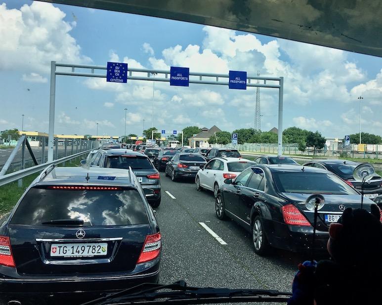 Grenzübergang Serbien Ungarn Röszke-Horgos