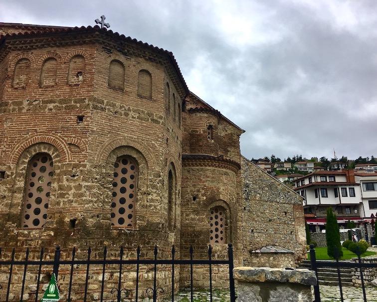 Ohrid Ohridsee Nordmazedonien Kathedrale Hagia Sophia in Ohrid Mazedonien
