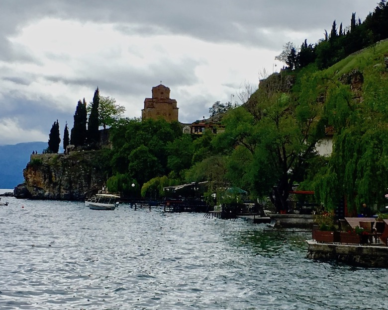 Kirche Johannes Kaneo Sv.Jovan Kaneo Ohrid Mazedonien