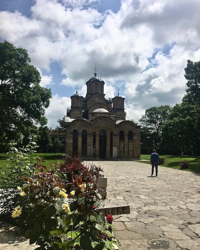 Kloster Gracanica in Gracanica Kosovo