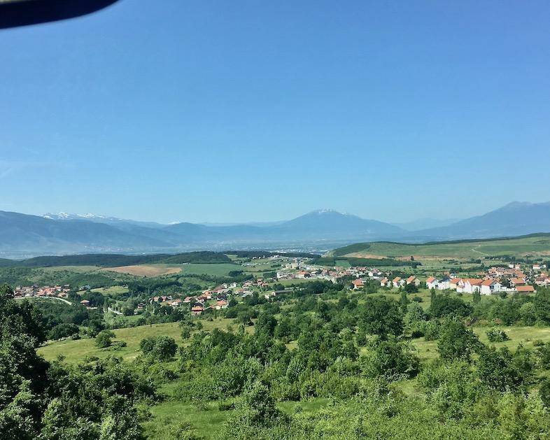 Landschaft im Kosovo