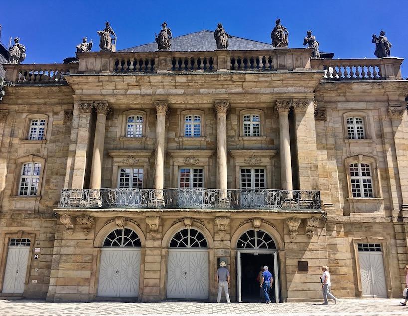 Stadt Bayreuth Altstadt UNESCO-Weltkulturerbe Markgräfliches Opernhaus Markgäfliches-Opernhaus-Bayreuth Weltkulturerbe Deutschland
