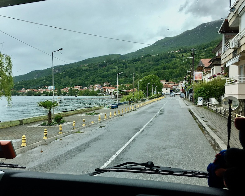 Ohridsee Nordmazedonien Pestani am Ohrid-See Mazedonien
