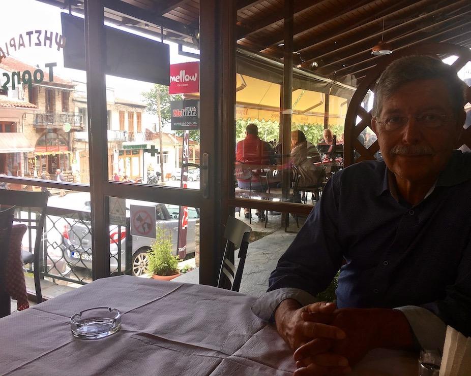 Taverne in Konista Griechenland
