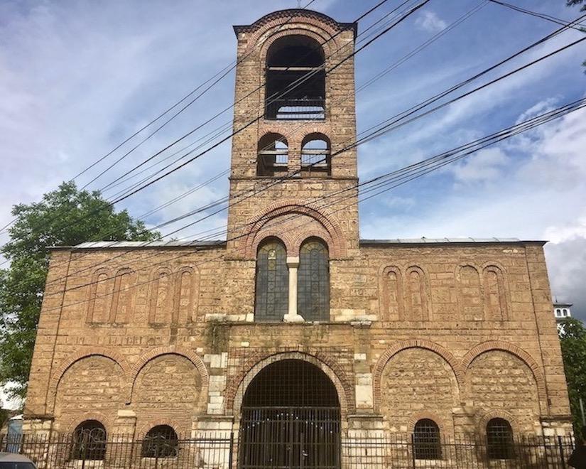 Weltkulturerbe Muttergottes Kathedrale Ljeviska in Prizren Kosovo