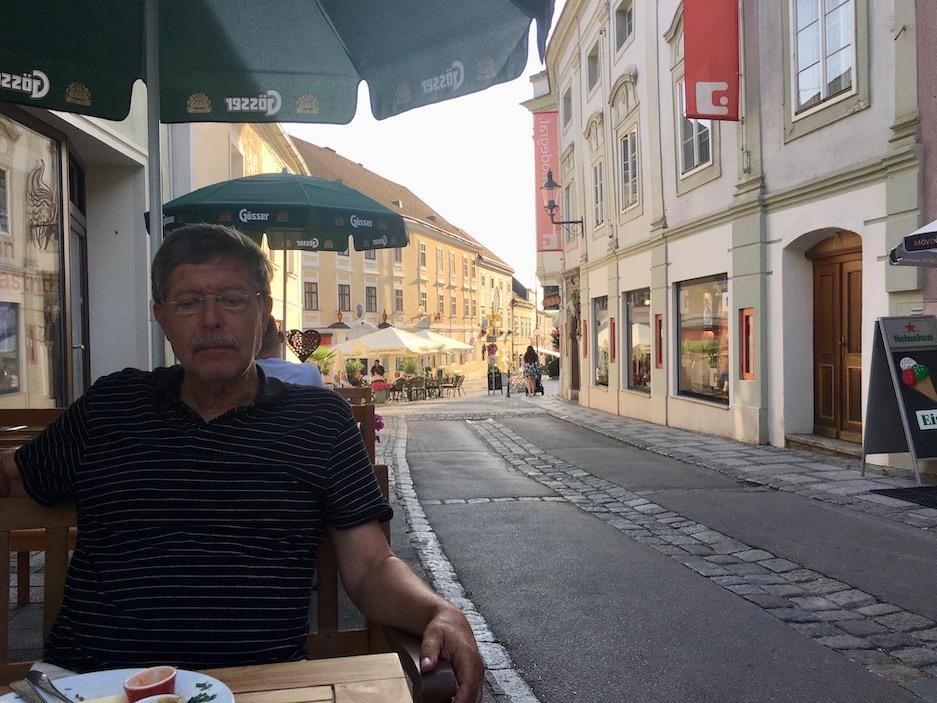 Kloster Melk Benediktinerstift Melk UNESCO-Weltkulturerbe Wachau Österreich in der Altstadt von Melk Österreich