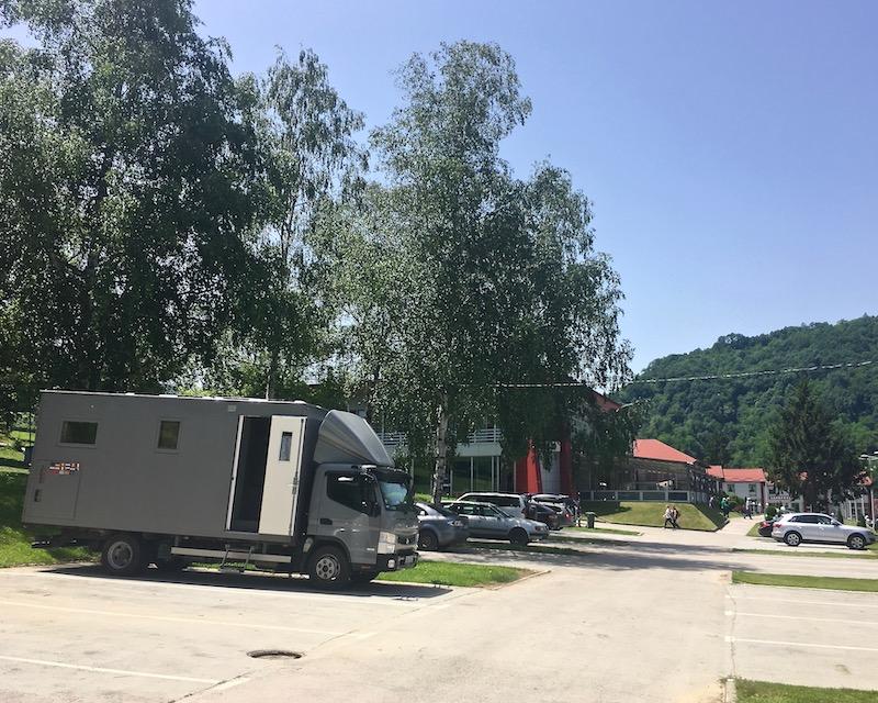 mole-on-tour Wohnmobile-Stellplatz in Predejane Serbien