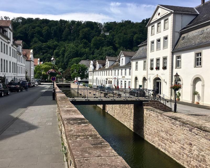Bad Karlshafen Deutschland Diemelkanal