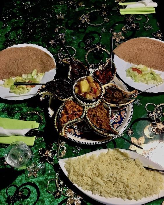 Eritreisches Essen Restaurant Abessina Kassel