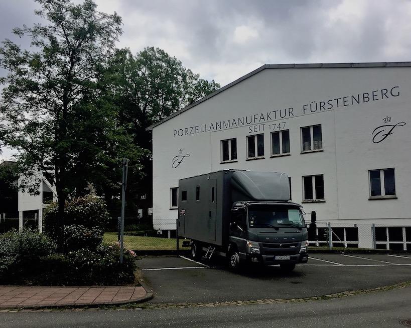 Fürstenberg Porzellan Manufaktur (Weser)Deutschland mit mole-on-tour