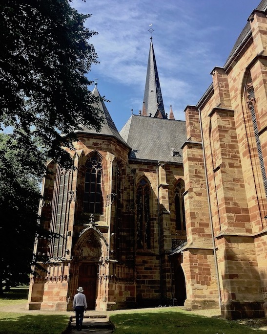 Frankenberg (Eder) Liebfrauenkirche Seitenansicht