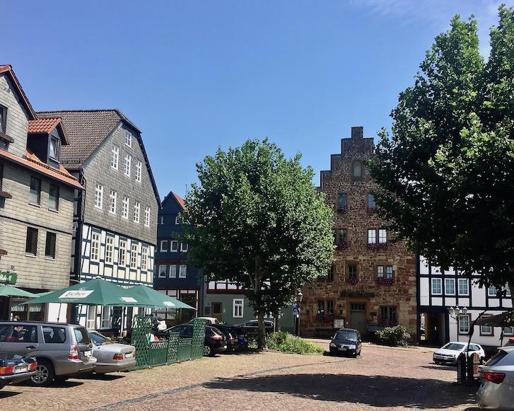 Frankenberg (Eder) Steinhaus am Pferdemarkt