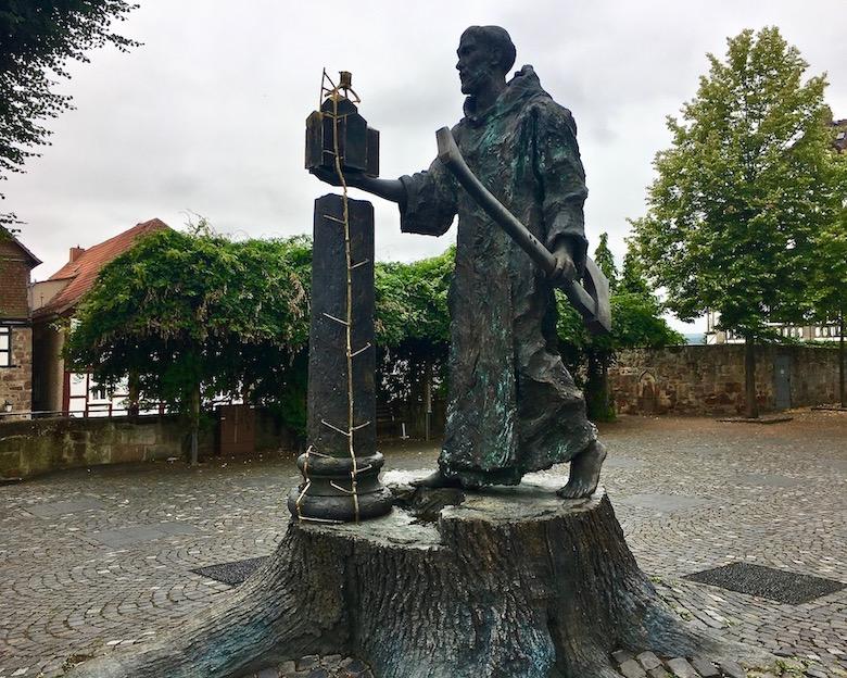 Fritzlar Deutschland Bonifatius-Denkmal