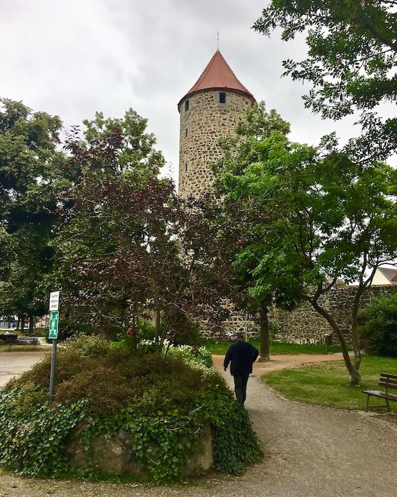 Fritzlar Deutschland Grebenturm an der Stadtmauer