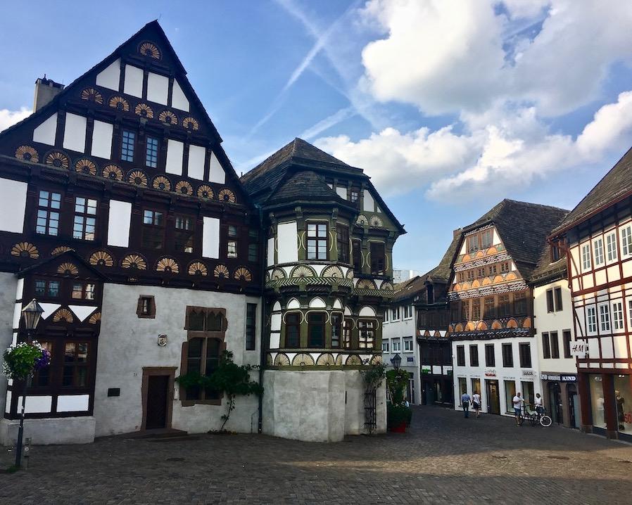 Höxter Deutschland Dechanei am Marktplatz