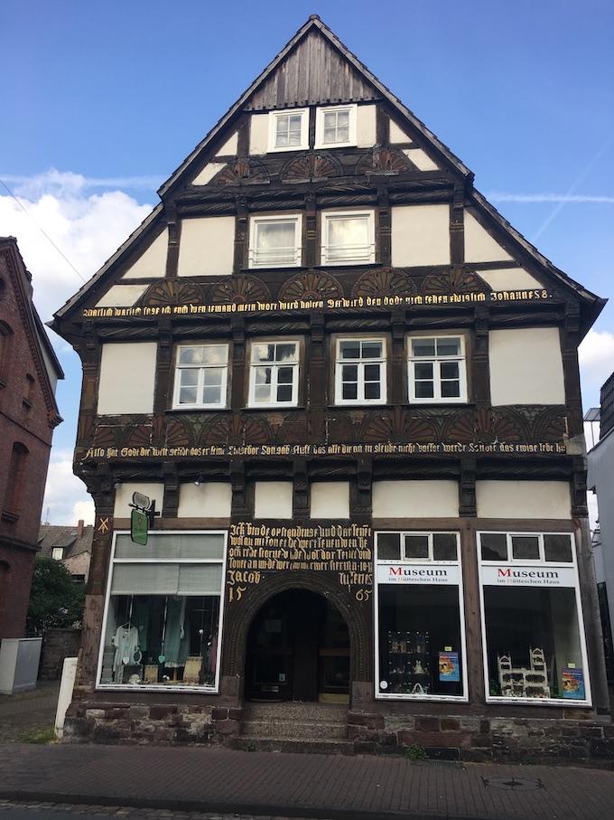 Höxter Deutschland Fachwerk Hütteschen Haus