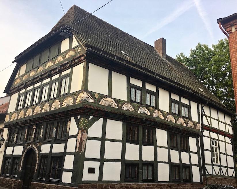 Höxter Deutschland Fachwerkhaus Adam-und-Eva