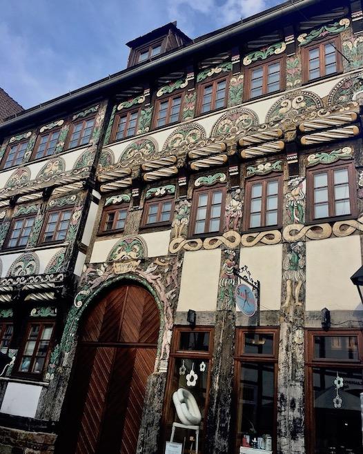 Höxter Deutschland Frührenaissance-Fachwerkhaus Horstkotte