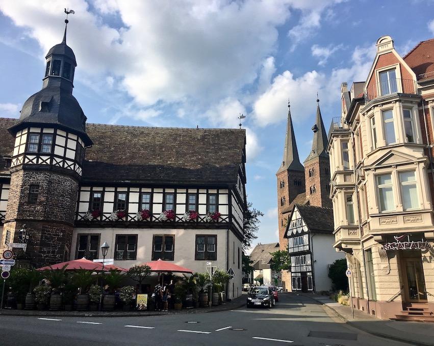 Höxter Deutschland Weserrenaissance-Rathaus
