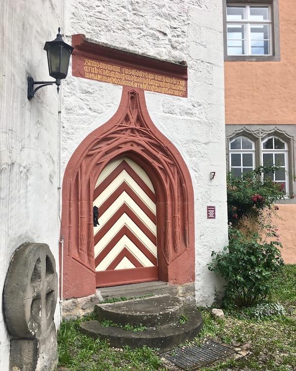 Hann.Münden Deutschland Eingangstüre ins Welfenschloss