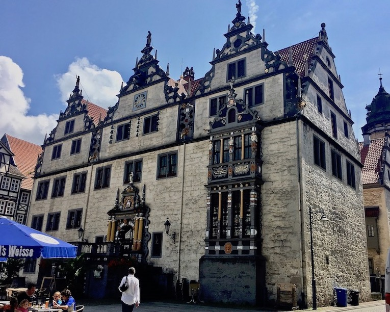 Hann.Münden Deutschland Renaissance-Rathaus