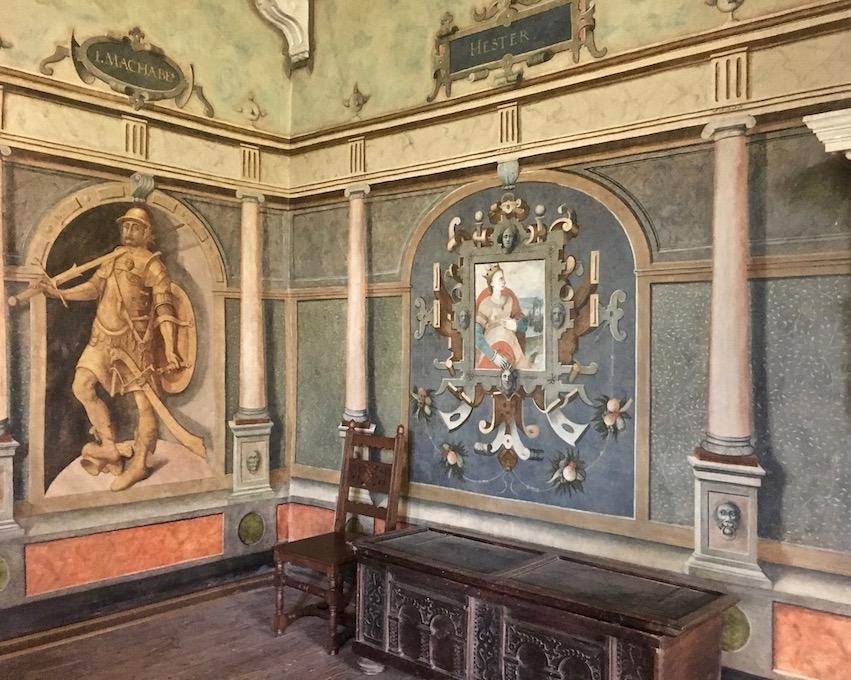 Hann.Münden Deutschland Renaissancegemach im Welfenschloss