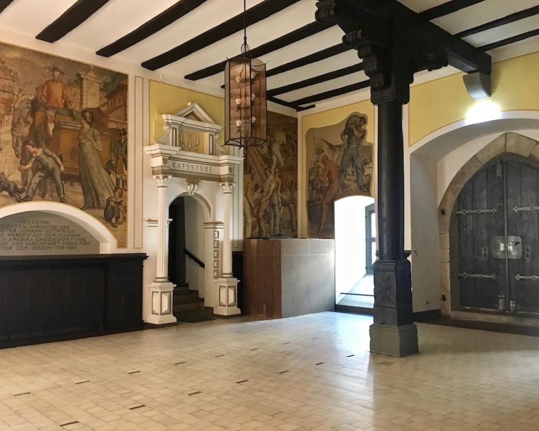 Hann.Münden Deutschland untere Rathaushalle
