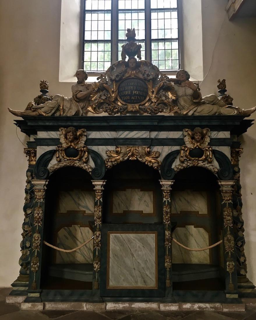 Kloster Corvey Höxter Abteikirche Beichtstuhl