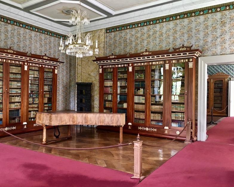 Kloster Corvey Höxter Bibliothek Raum 2