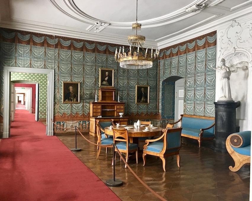 Kloster Corvey Höxter Blauer-Salon