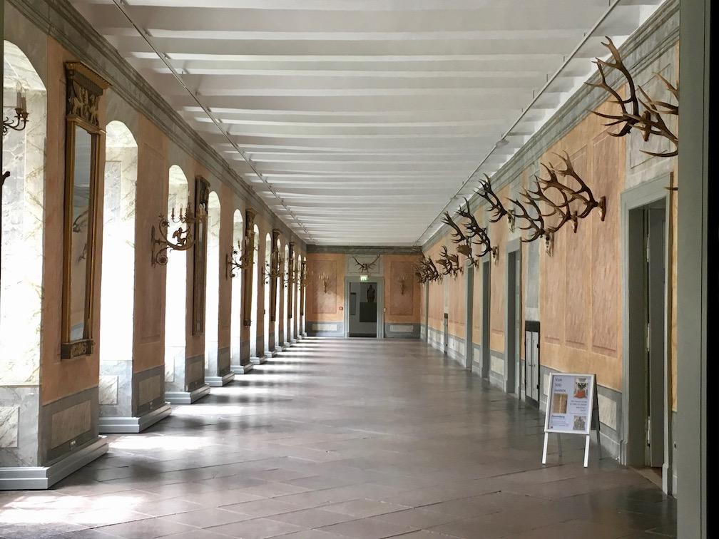Kloster Corvey Höxter Geweihgang
