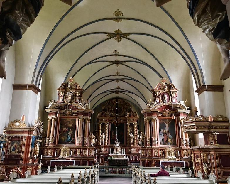 Kloster Corvey Höxter Innenraum Barockaltar Abteikirche