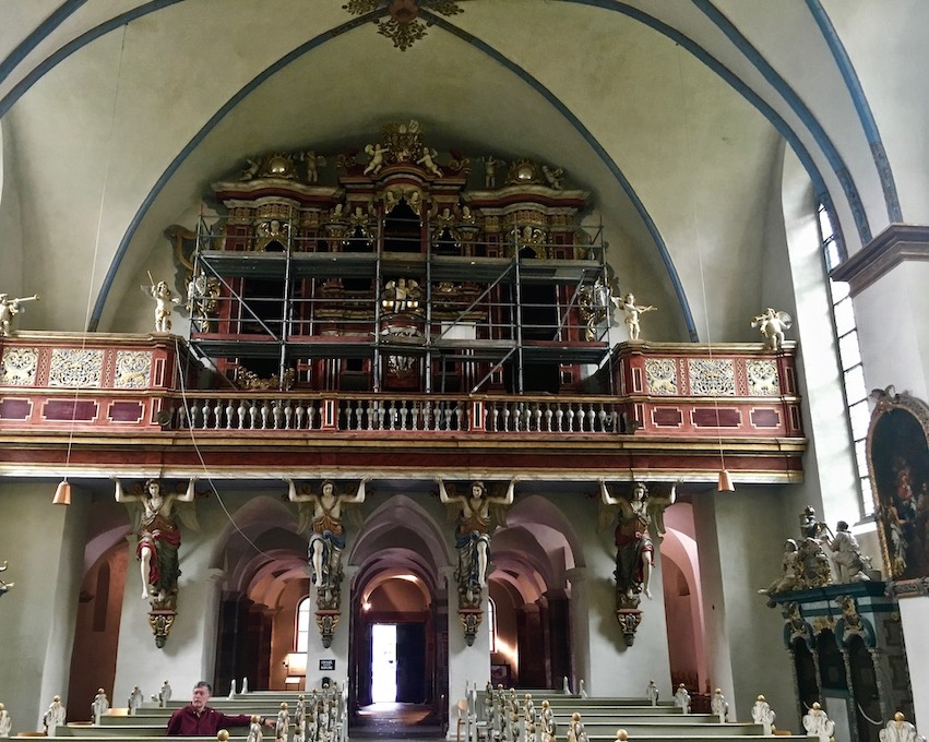 Kloster Corvey Höxter Orgel Abteikirche