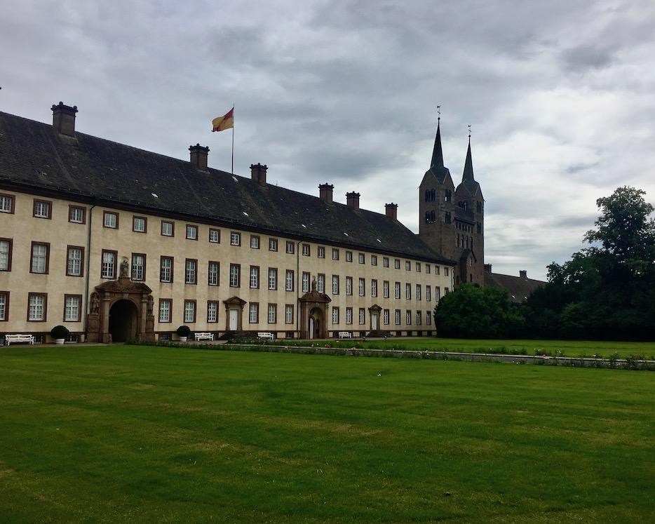 Kloster Corvey Höxter Schloß mit Abteikirche