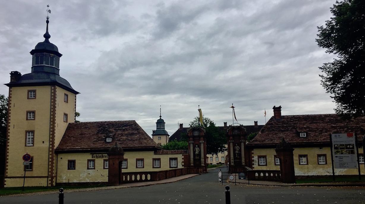 Kloster Corvey Höxter Weltkulturerbe Ansicht der Vorburg
