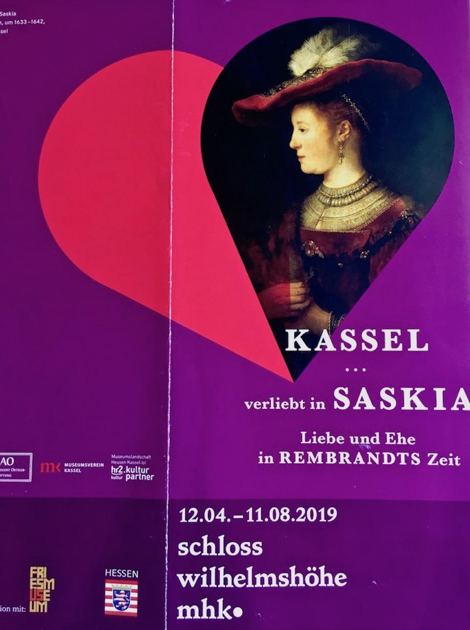 Plakat Kassel verliebt in Saskia