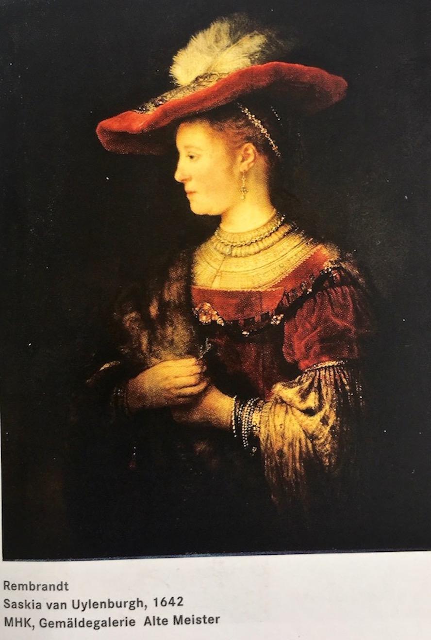 Rembrandt Saskia van Uylenburgh von 1642 Alte Meister Kassel