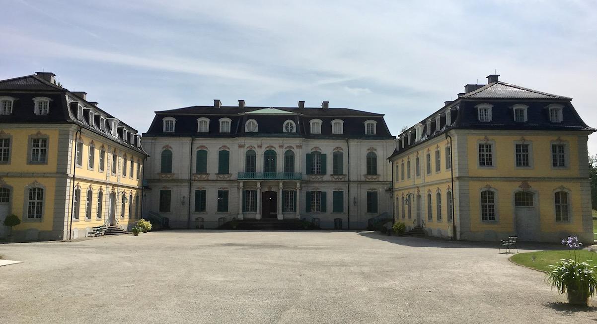 Schloss Wilhelmsthal Calden Dreiflügelanlage