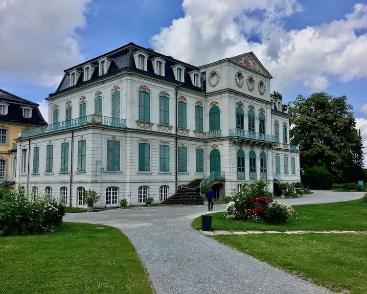 Schloss Wilhelmsthal Calden Gartenansicht
