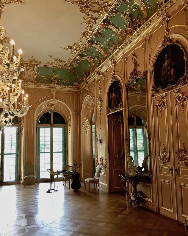 Schloss Wilhelmsthal Calden Rokoko-Ballsaal